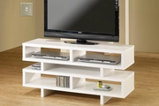 White Wood TV Stand