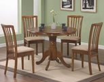 Brannan Maple Wood Dining Table Set