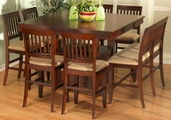 Brendon 8pc Pub Table and Chair Set