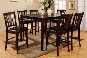 Bridgette 7pc Pub Table and Chair Set