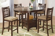 Brittany 5pc Pub Table and Chair Set