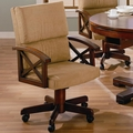 Brown Fabric Game Chair