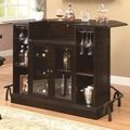 Brown Glass Bar Unit