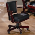 Brown Leather Game Chair