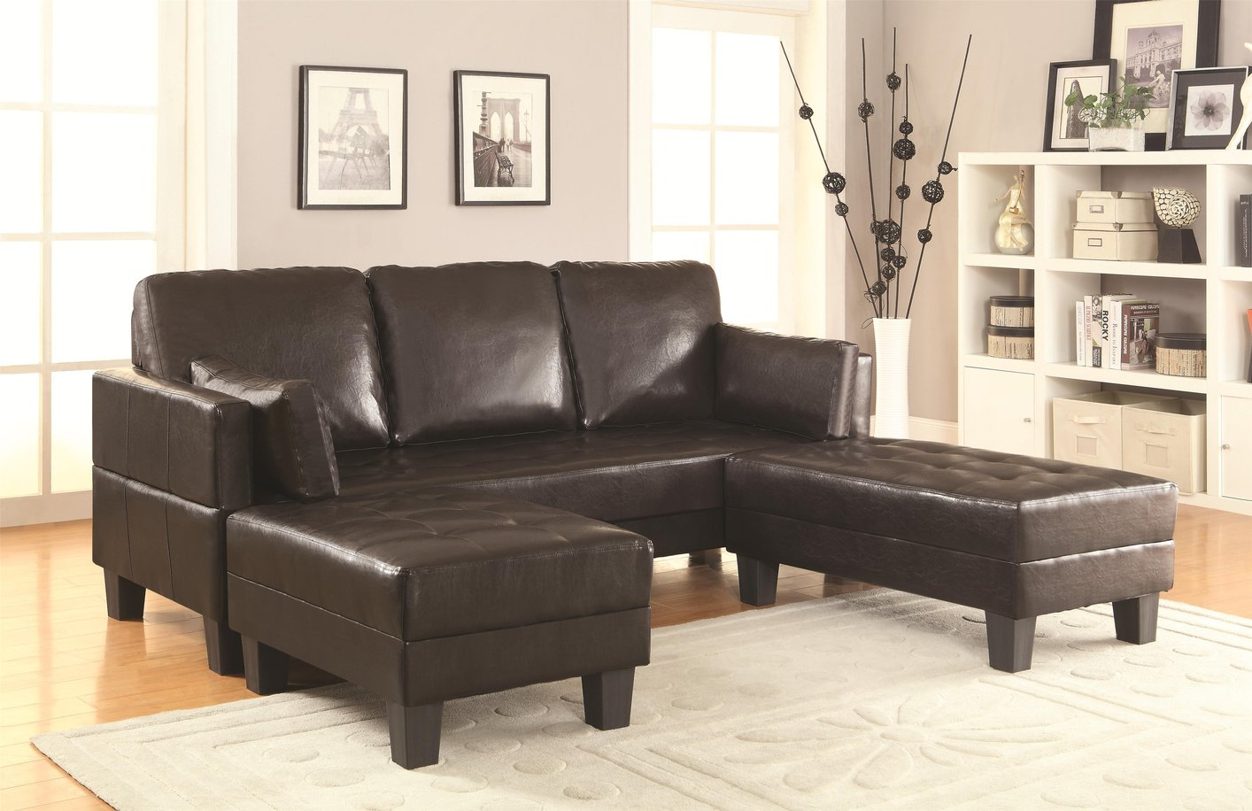 Bildresultat för leather bed sofa