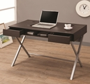 Brown Metal Desk