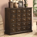 Brown Wood Accent Cabinet