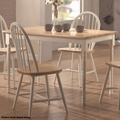 Brown Wood Dining Table
