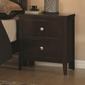 Carlton Brown Wood Nightstand