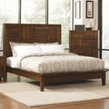 Brown Wood Queen Size Bed