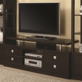 Brown Wood TV Stand