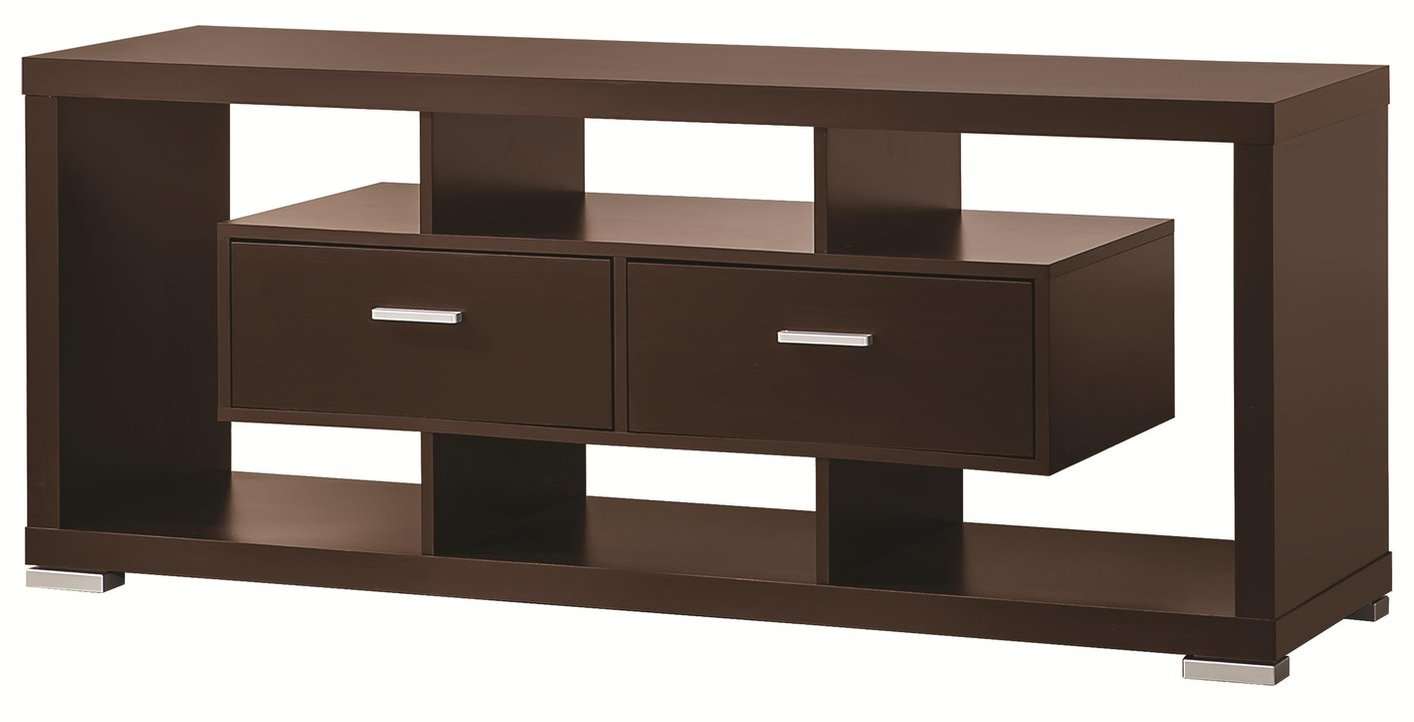 Coaster 700112 Brown Wood Tv Stand Steal A Sofa