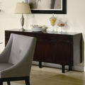 Candice Cappuccino Wood Buffet Table