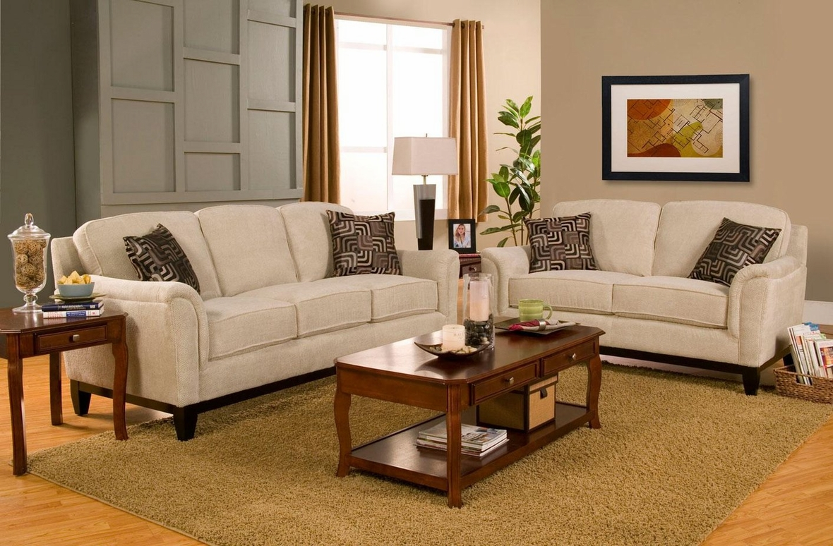 coaster carver 502471 502472 beige fabric sofa and