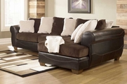 Chocolate Sectional Sofa
