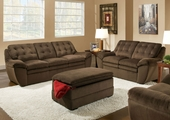 Nimbus Seal Sofa and Loveseat Set