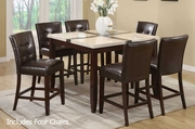 City 5pc Pub Table and Chair Set
