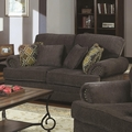 Colton Grey Fabric Loveseat