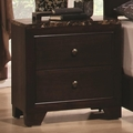Brown Marble Nightstand