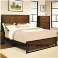 Coronado Brown Wood California King Size Bed