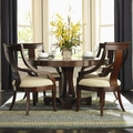 Cresta Cherry Wood Dining Table Set