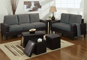 Cyler Sofa, Loveseat and Ottoman Set