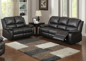 Gavin Reclining Sofa and Loveseat Set