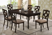 Dining 1033 Brown Ash Wood Dining Table