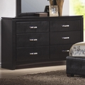 Black Leather Dresser