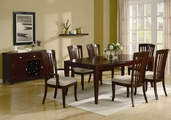 El Rey Cherry Wood Dining Table Set