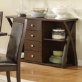 Emerson Cappuccino Wood Buffet Table