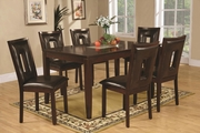 Ervin Espresso Wood Dining Table Set
