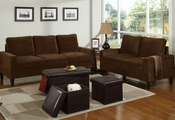 Evjen Sofa, Loveseat and Ottoman Set