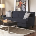 Finley Blue Fabric Sofa