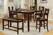 Frey 6pc PubTable and Chair Set