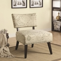 Norah Grey Fabric Accent Chair