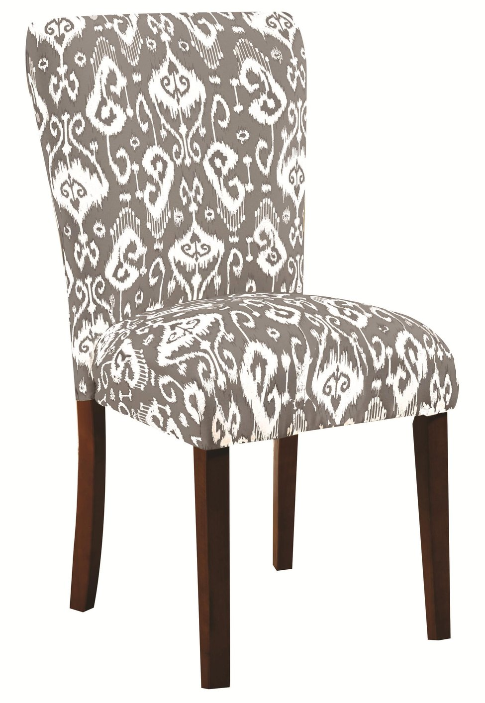 coaster 104049 grey fabric dining chair steal a sofa