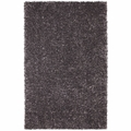Grey Fabric Floor Rug