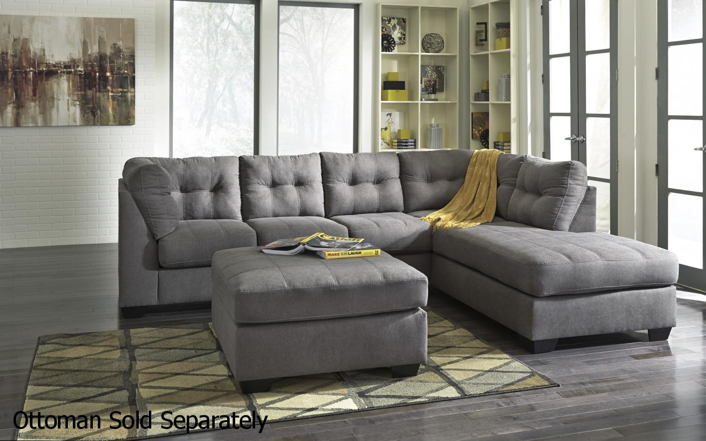 Ashley 4520017 4520066 Grey Fabric Sectional Sofa Steal  : grey fabric sectional sofa 124 from www.stealasofa.com size 1414 x 884 jpeg 169kB