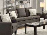 Bachman Grey Fabric Sofa