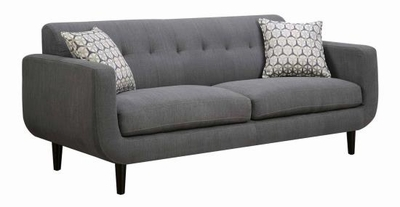 Stansall Grey Fabric Sofa