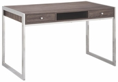 Grey Metal Desk