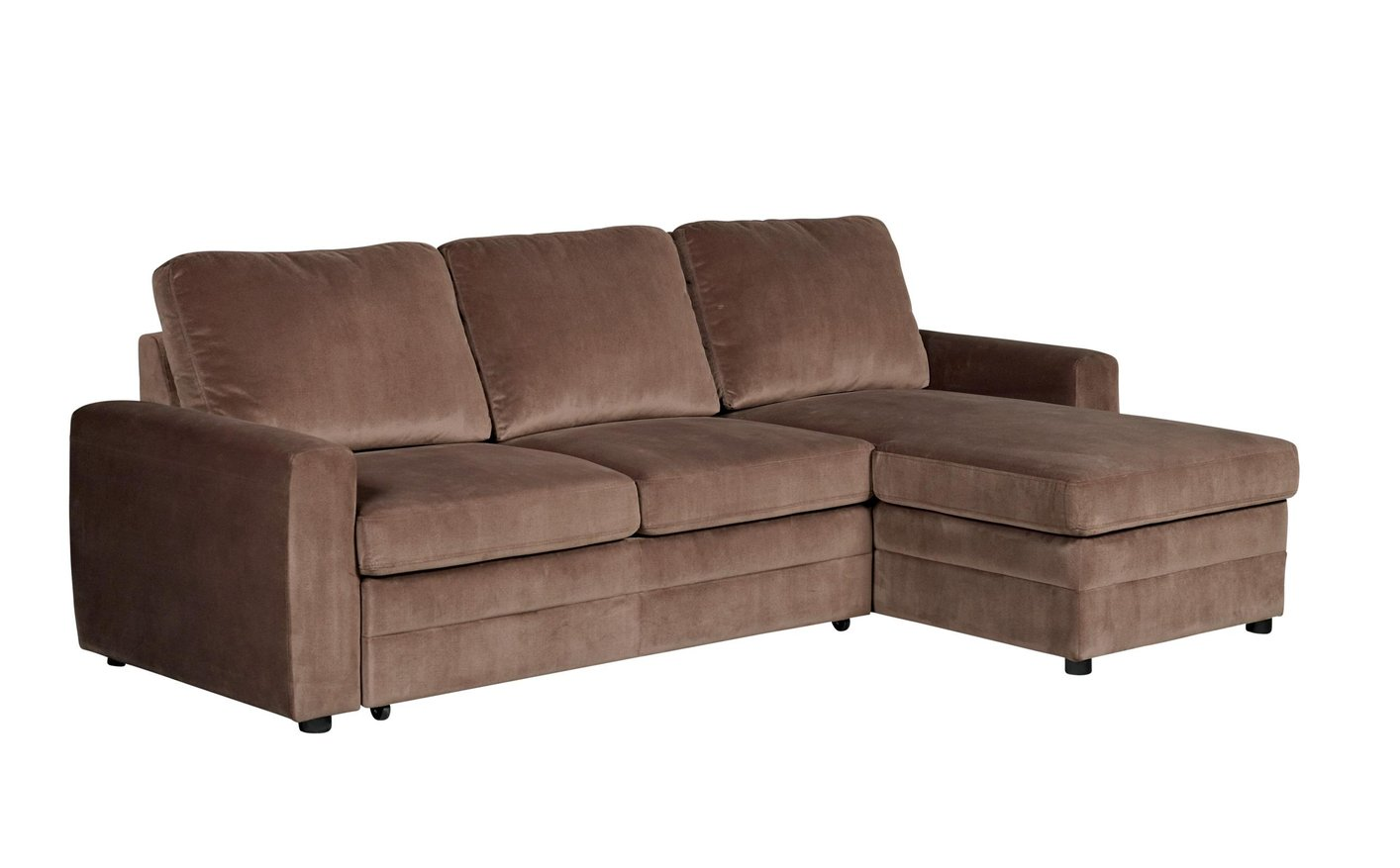 Coaster Gus 503871 Brown Fabric Sectional Sofa Steal A