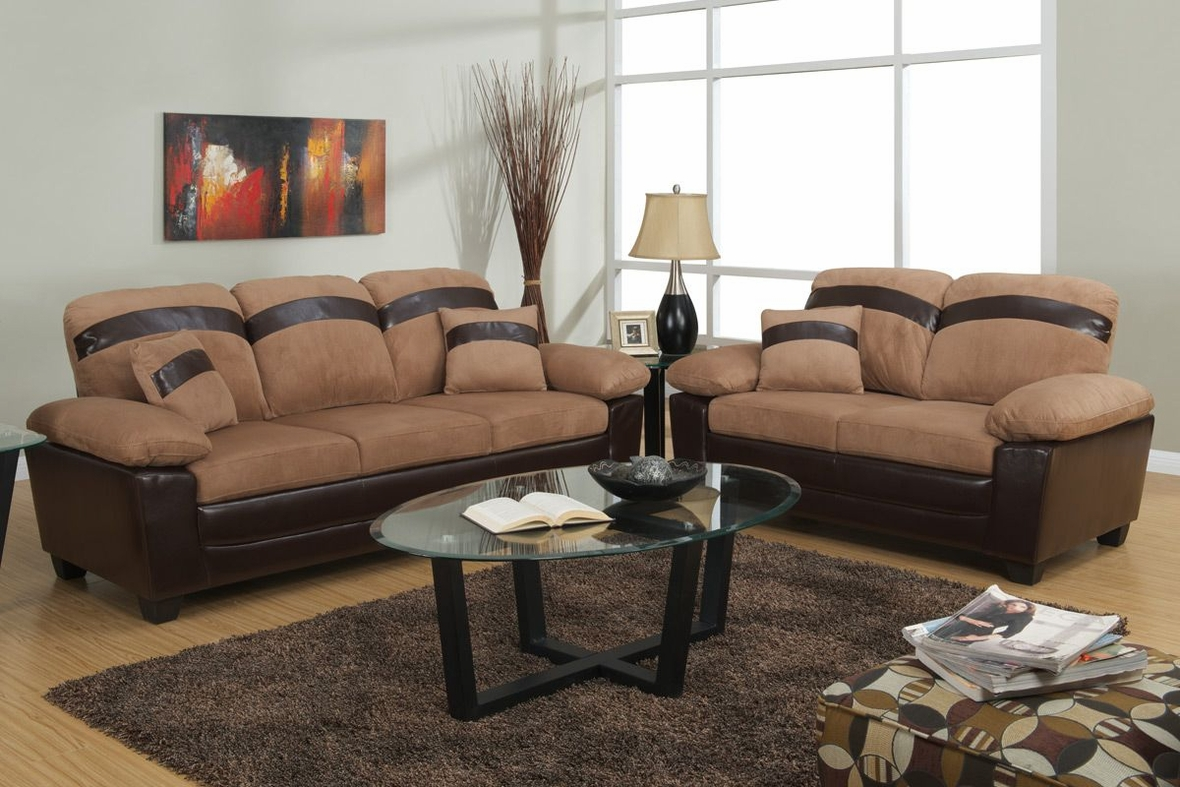 Microfiber Sofa and Loveseat Set 1180 x 787