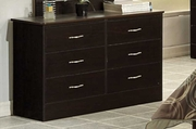 Brown Wood Dresser