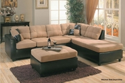 Harlow Saddle Sectional Sofa