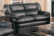 Harper Black Loveseat