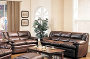 Harper Brown Sofa and Loveseat Set