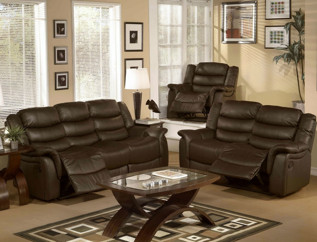 Beverly FG004S Reclining Sofa, Loveseat, and Chair Set in Los Angeles