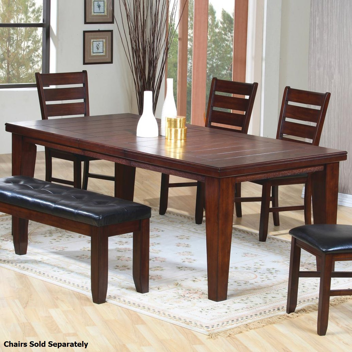 brown wood dining table - Rustic Furniture Outlet